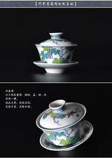 Ciotola di tè cinese collezione artigianale a mano dipinti a mano Lusso ciotola di tè e piattino