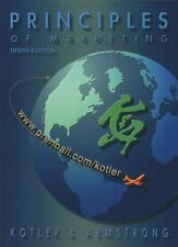 Principles of Marketing by Gary Armstrong and Philip Kotler, 9th Ed. (Hardcover)