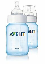 PHILIPS Avent scf685 / 27 Classic 2-Pack 260ml / 9oz FEEDING BOTTLE-Blu
