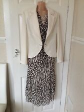 NASA C DRESS  & JACKET SIZE 10 WEDDING SUIT NEW WITH tags Orig Price £199