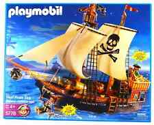 Playmobil 5778 Skull Pirate Ship - 2005 version - New Sealed mint in box