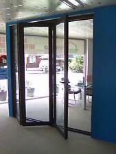 ALUMINIUM DOUBLE GLAZED BIFOLD DOOR - 3 Panel - 2110h x 2410w