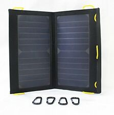 Solar-Go Flair II 2 Mobile Travel 13 Watt SunPower Solar Panel Dual USB Output