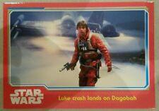 Topps 2015 Star Wars: The Force Awakens Trading Card #67 Luke Crash Lands...