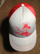 Roxy Baseball Cap Hat Snapback Adjustable Red GXN