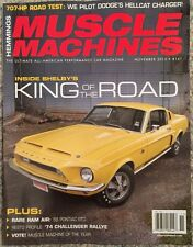 Hemmings Muscle Machines King Of The Road November 2015 FREE SHIPPING