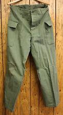 Original World War 2 US Army HBT Herringbone Twill Fatigue Pants 1943 Pattern