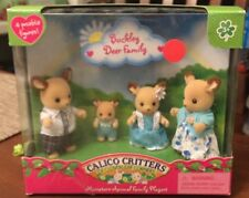 CALICO CRITTERS CC1457 Buckley Deer Family NEW IN BOX