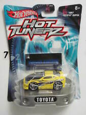 HOT WHEELS HOT TUNERZ 1997 TOYOTA SUPRA YELLOW