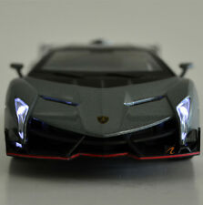 Scale model 1:32 Lamborghin Veneno miniature car model with sound light