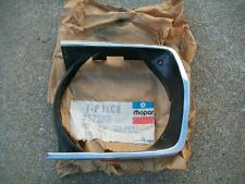 NOS MoPar 1971 1972 Plymouth Duster Valiant Headlamp Bezel Left Hand Driver side