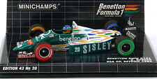 Minichamps 1:43 Benetton BMW B186 - Gerhard Berger - USA GP - Detroit - New