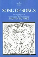 Song of Songs (The Anchor Yale Bible Commentaries) by Pope, Marvin H.