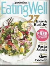 Eating Well Magazine Sample Pasta Salads/Slow Cooker Comfort Foods