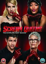 Scream Queens - Season 1 Complete Series DVD UK Region 2 Stock