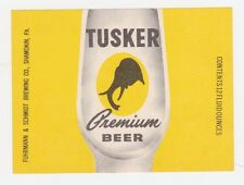 Tusker Premium Beer Label