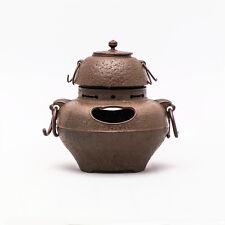 Gusseisen Wasserkessel Kama für die Teezeremonie aus Nambu Japan Teekanne Teapot