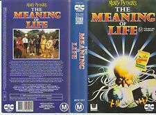 Vhs *Monty Pythons The Meaning of Life(1983 UK Pre Cert)* Oz Sell Through Issue!