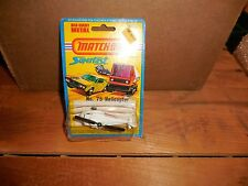 Vintage Matchbox 1976 Superfast No 75 Helicopter