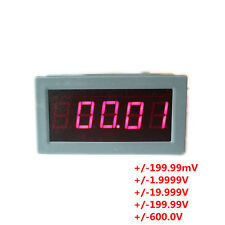 High Precision Digital Red LED Display DC Voltmeter  Reverse Connect Protection