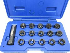 16pc spark plug thread repair kit M14 x 1.25 hss tap Vorlux par bergen 5841