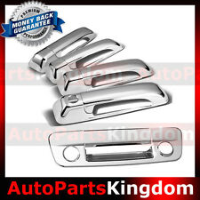 09-16 Dodge Ram Chrome 4 Door Handle+Tailgate with Keyhole+Camera Hole Cover