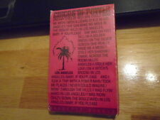 SEALED RARE PROMO Circus Of Power CASSETTE TAPE Los Angeles METAL Vices NY Loose