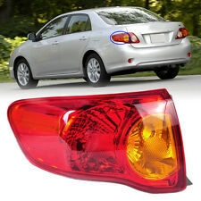 New Rear Left Outer Tail Light Assembly Brake Light fits Toyota Corolla 09-10