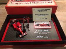 Ferrari F2000 Schumacher Winner Malaysian 2000 BBR 1/43 F1 World Champion