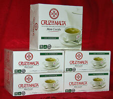 CRUZ DE MALTA 250 YERBA MATE TEA BAGS -  NOT INDIVIDUALLY WRAPPED