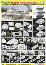 Dragon 1/35 6600 Pz.Kpfw.Ausf.E Tiger I Initial, s.Pz.Abt.502 Leningrad Region