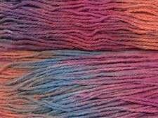 Araucania ::Rinihue #1715:: wool silk yarn Fuchsia-Reds-Blues 40% OFF!