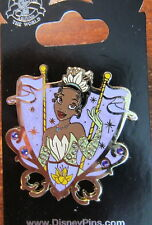 Disney Princess Jeweled Crest Pin Tiana