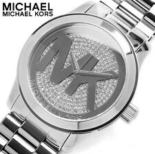 Michael Kors Women's Parker MK5544 Silver Stainless-Steel Quartz Dress Watch