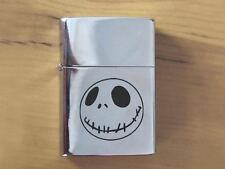Nightmare Before Christmas Jack Polished Chrome Lighter
