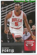 073 BOBBY PORTIS USA CHICAGO BULLS STICKER NBA BASKETBALL 2017 PANINI