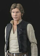 BANDAI S.H.Figuarts Star Wars Han Solo A NEW HOPE JAPAN OFFICIAL FREE SHIPPING