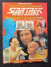 1992 STAR TREK Next Generation Makeup FX Journal Magazine VF+