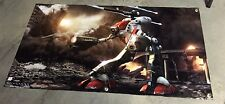 MACROSS BANNER ACTION FIGURE MODEL POSTER POD GLAUG KIT SPACE WEAPON TOY MECH