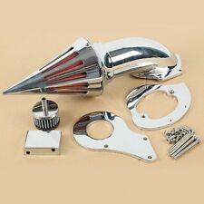 Chrome Spike Air Cleaner Intake Filter For Honda Shadow VT600C VLX600 1999-UP