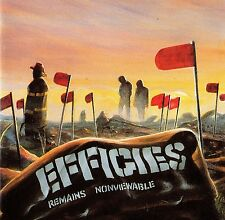 """THE EFFIGIES - REMAINS NONVIEWABLE CD (1981-1984) US-PUNK / """"TOUCH & GO RECORDS"""""""