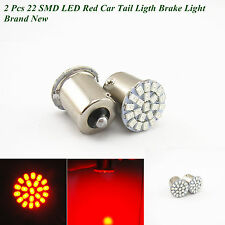 2 x 22-SMD LED Car Red Tail Light Brake Light Bulb Lamp T20 1156 P21W BA15S 12V