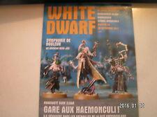 *** White Dwarf n°34 Dark Eldars Haemonculus / Dark Eldars Wracks