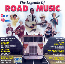 """THE LEGENDS OF ROAD MUSIC, CD """"2 CD SET, 40 SONGS"""" NEW SEALED"""