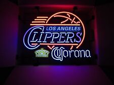 NEW Corona Extra Clippers Basketball Beer Neon Sign Man Cave Los  Angeles Style