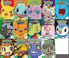 Pokemon Seasons 1,2,3,4,5,6,7,8,9,10,11,12,13 and 14 - BONUS Pokemon 20cm Plush