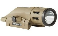 Inforce W-06-1 Weapon Light White LED 400 Lumens Picatinny Rail Flat Dark Earth