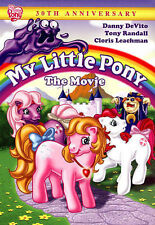 MY LITTLE PONY - The Movie (30th Anniversary Edition!) DVD [V08]