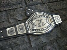 NEW! Fantasy Football Championship Belt Avenger Metal Plates Adult Size