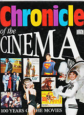 CHRONICLE OF THE CINEMA-100 YEARS OF CINEMA-1997-HB-SUPERB LARGE-COLOR ILLUS NF